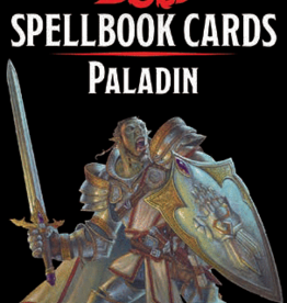 Wizards of the Coast D&D Spellbook Cards Paladin