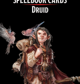 Wizards of the Coast D&D Spellbook Cards Druid