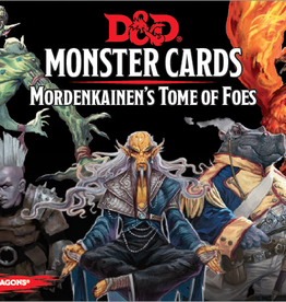 Wizards of the Coast D&D Monster Cards Mordenkainen's Tome of Foes