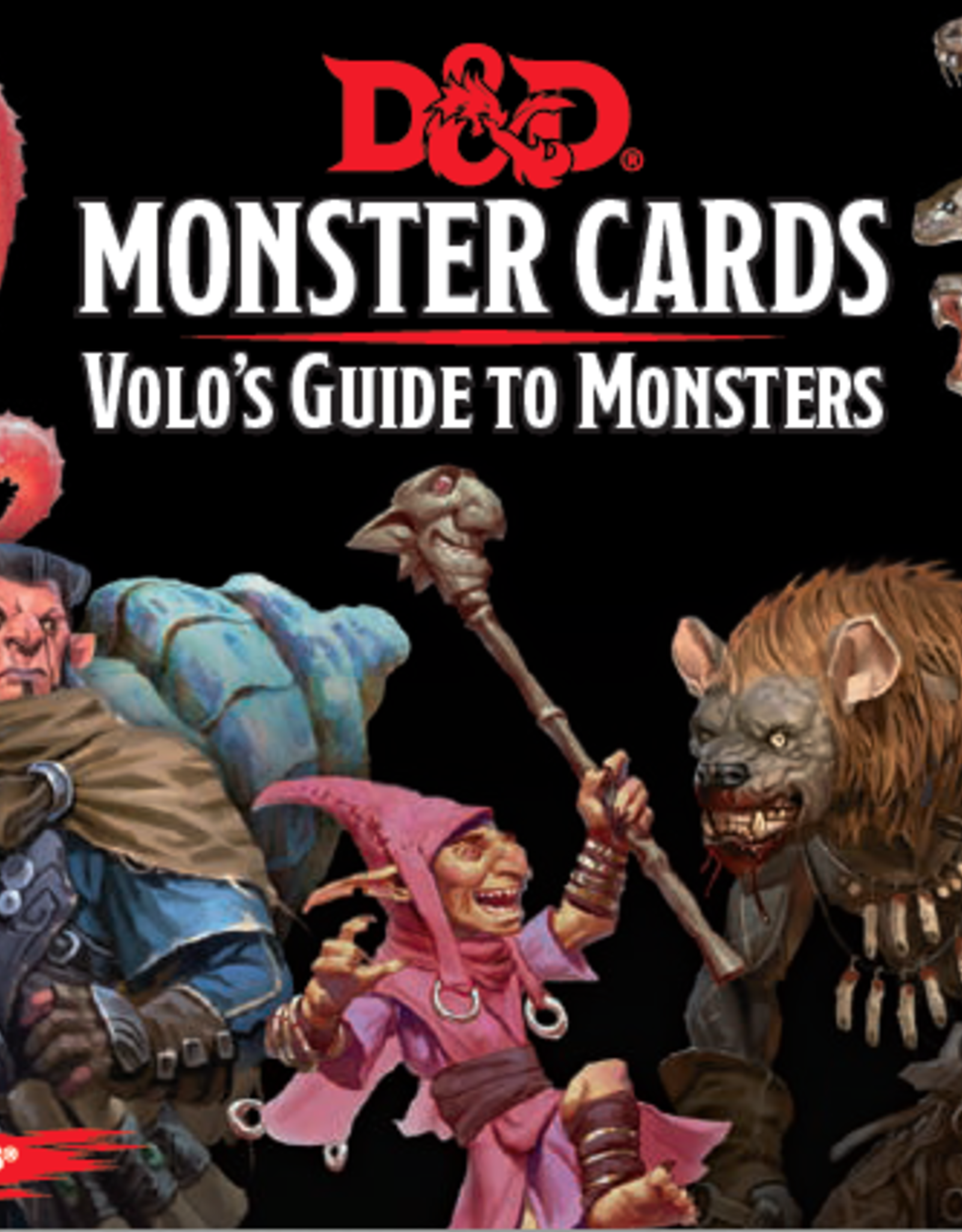 Wizards of the Coast D&D Monster Cards Volo's Guide to Monsters