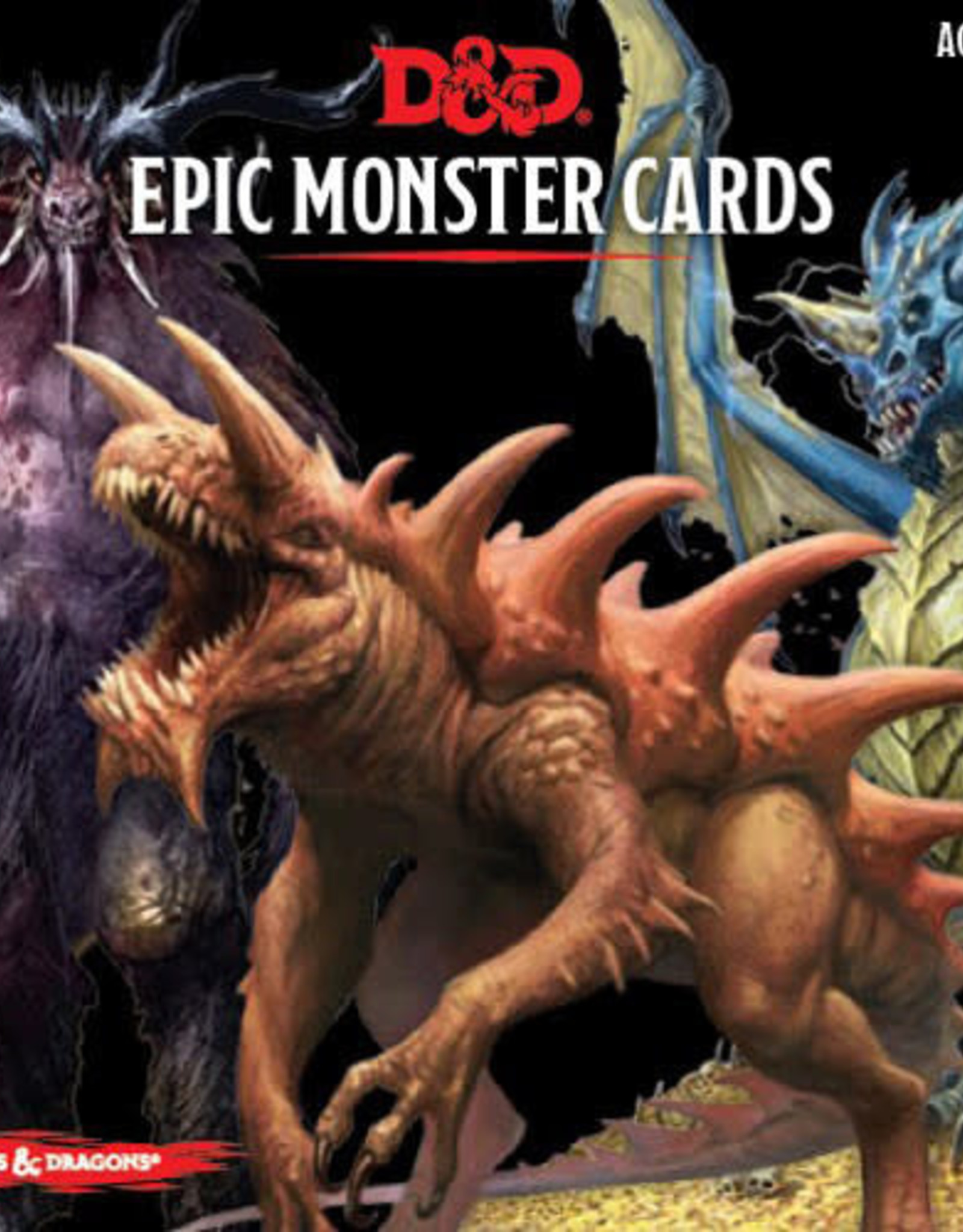 Wizards of the Coast Dungeons & Dragons Epic Monster Cards