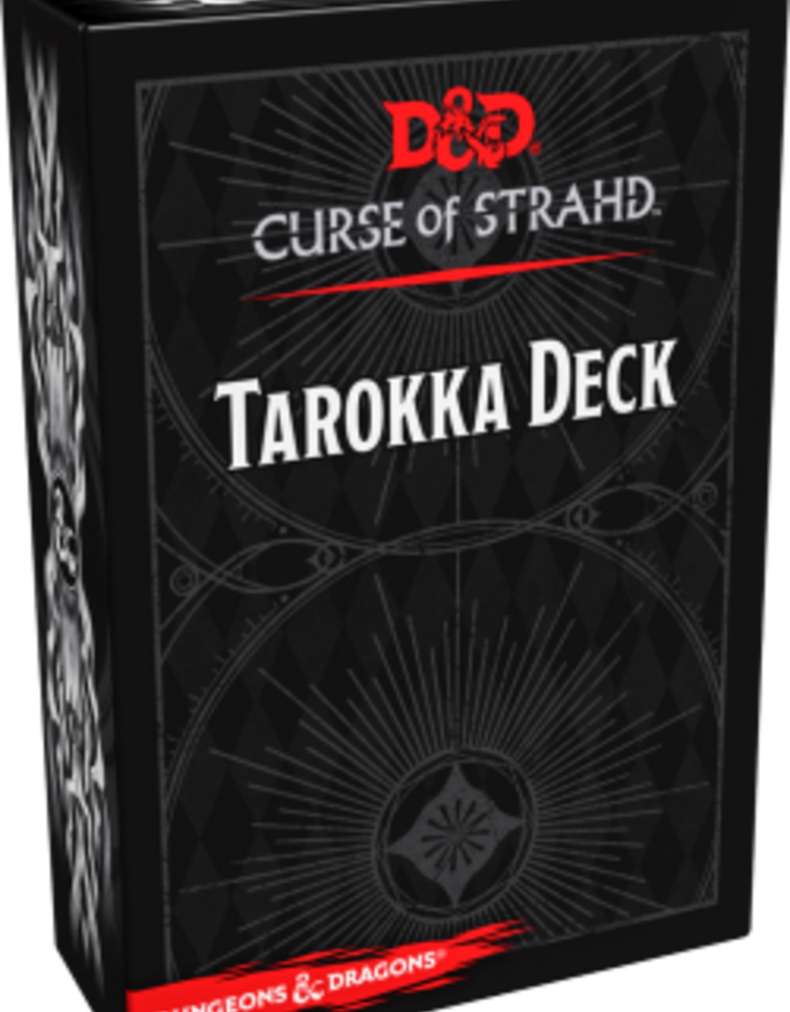 Wizards of the Coast Dungeons & Dragons Curse of Strahd Tarokka Deck