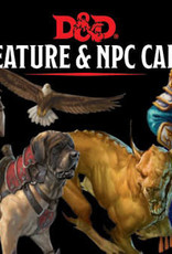 Wizards of the Coast Dungeons & Dragons Creature & NPC Cards