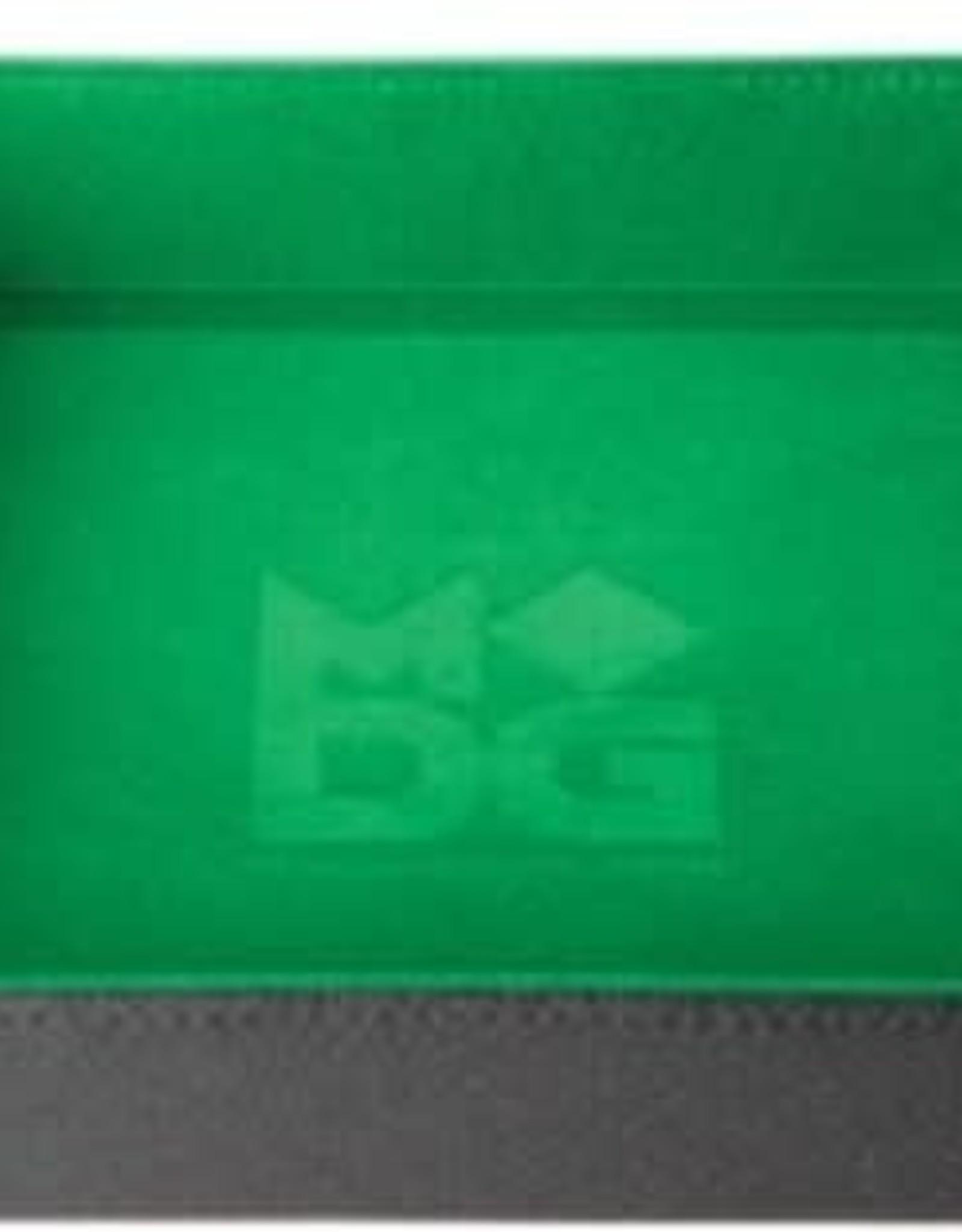 Metallic Dice Games Folding Dice Tray Green Velvet
