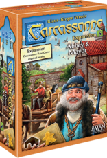 Z-Man Games Carcassonne Exp 5 Abbey & Mayor