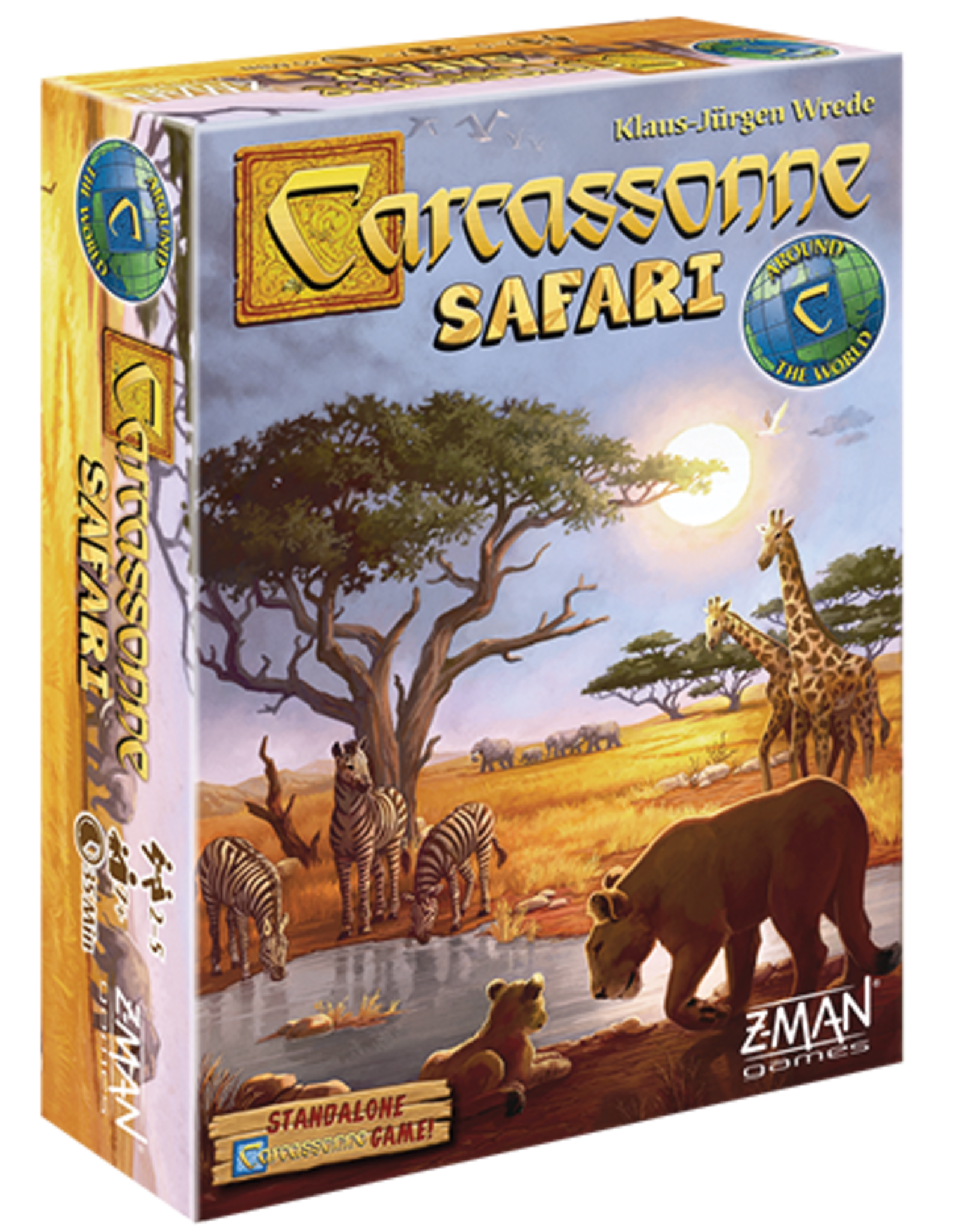 Z-Man Games Carcassonne Safari