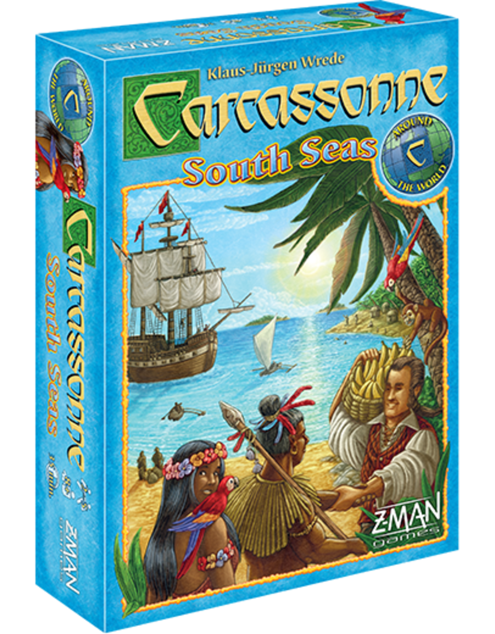 Z-Man Games Carcassonne South Seas
