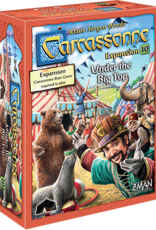 Z-Man Games Carcassonne Exp 10 Under the Big Top