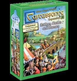 Z-Man Games Carcassonne Exp 8 Bridges, Castles & Bazaars