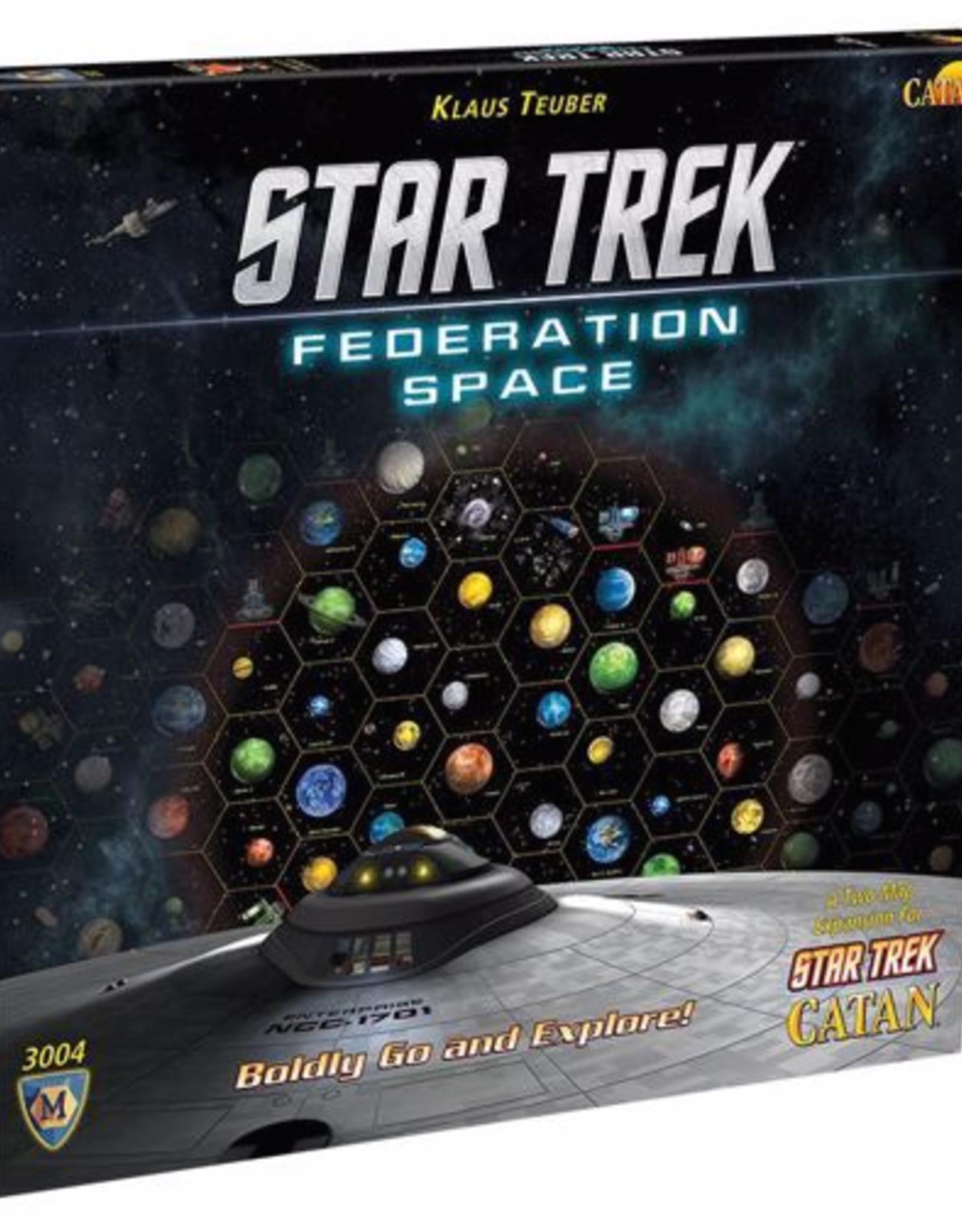 Catan Studio Star Trek Exp Federation Space Map