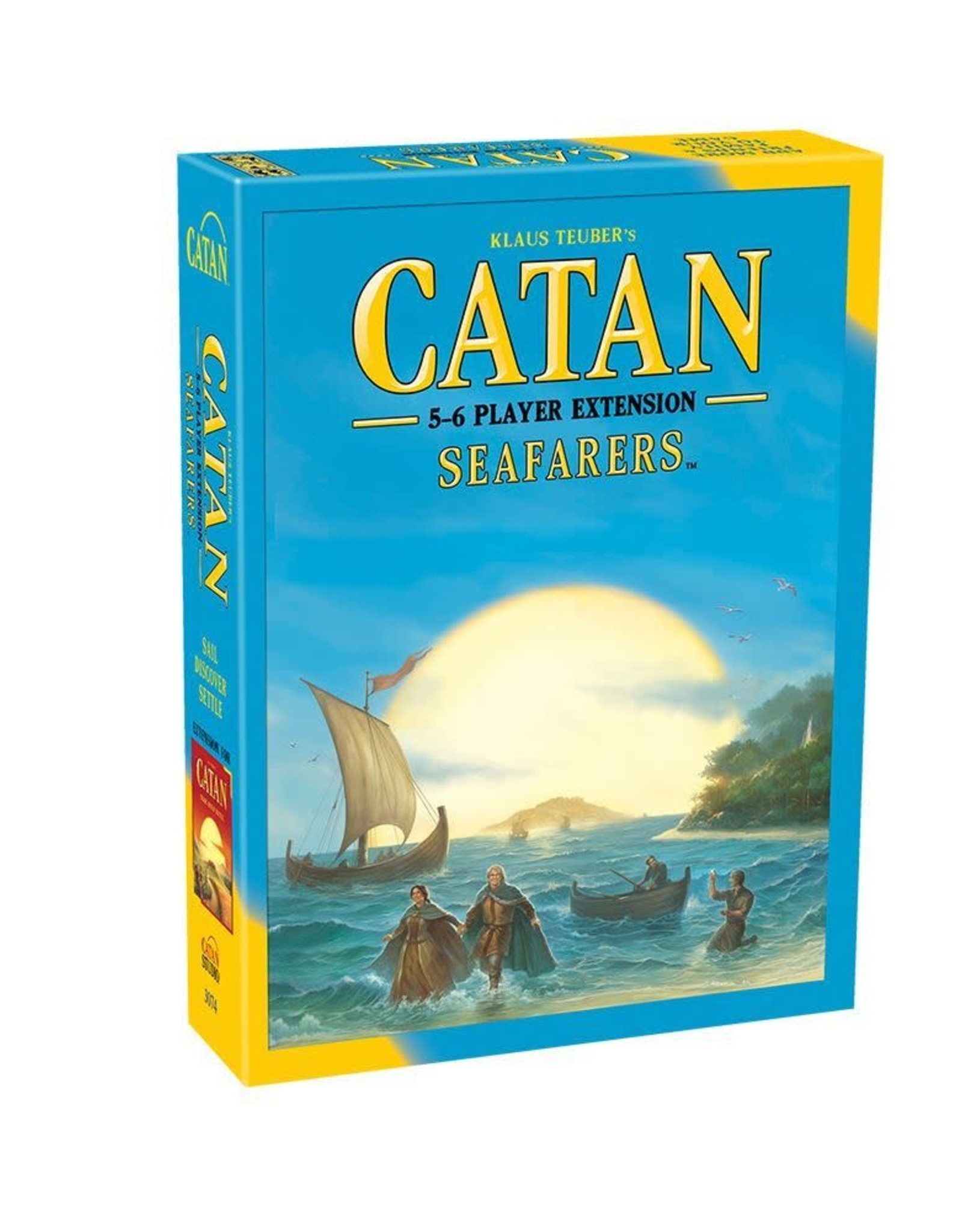 Catan Studio Catan Seafarers 5-6 Player Extension