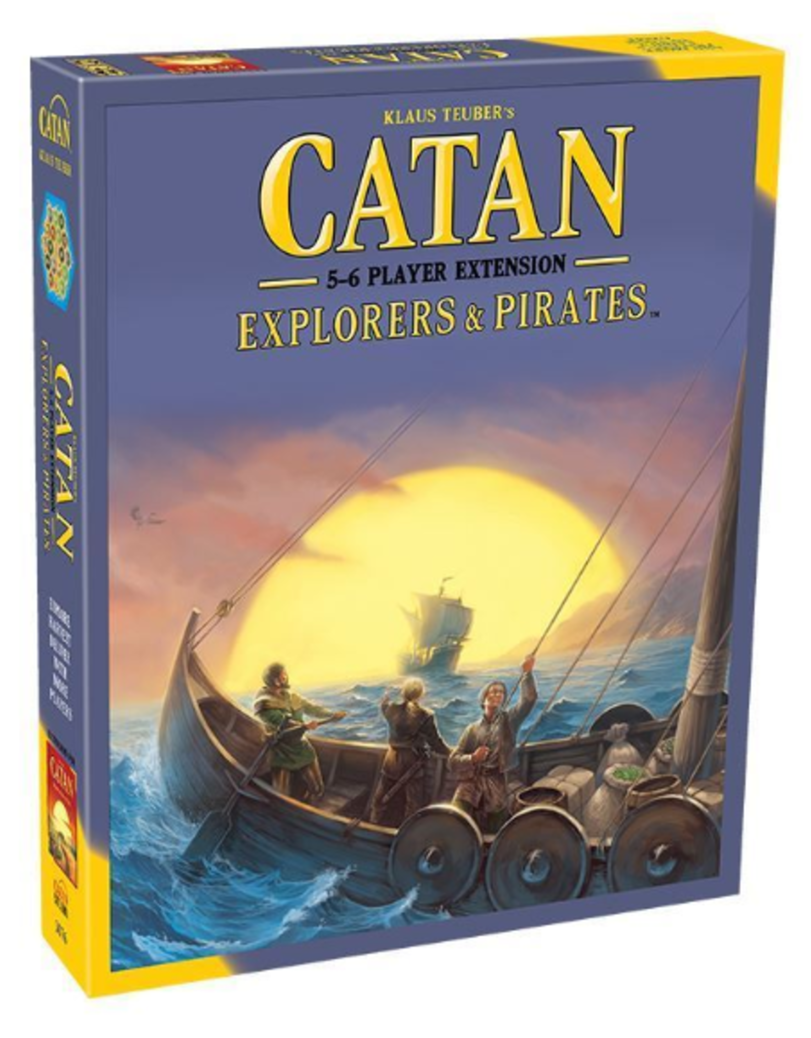 Catan Studio Catan Explorers & Pirates 5-6 Player Extension