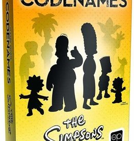 USAopoly Codenames Simpsons