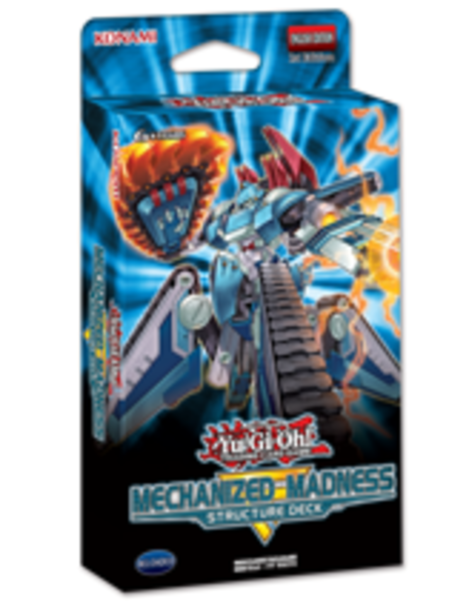 Konami YuGiOh Mechanized Madness Deck