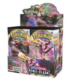 Pokemon Pokemon Rebel Clash Booster Box