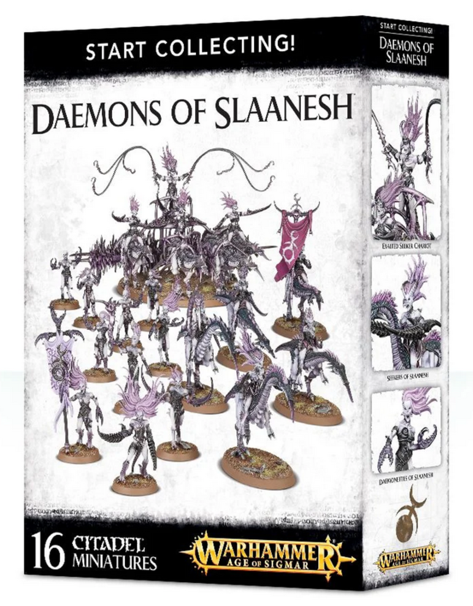 Games Workshop Start Collecting: Daemons of Slaanesh