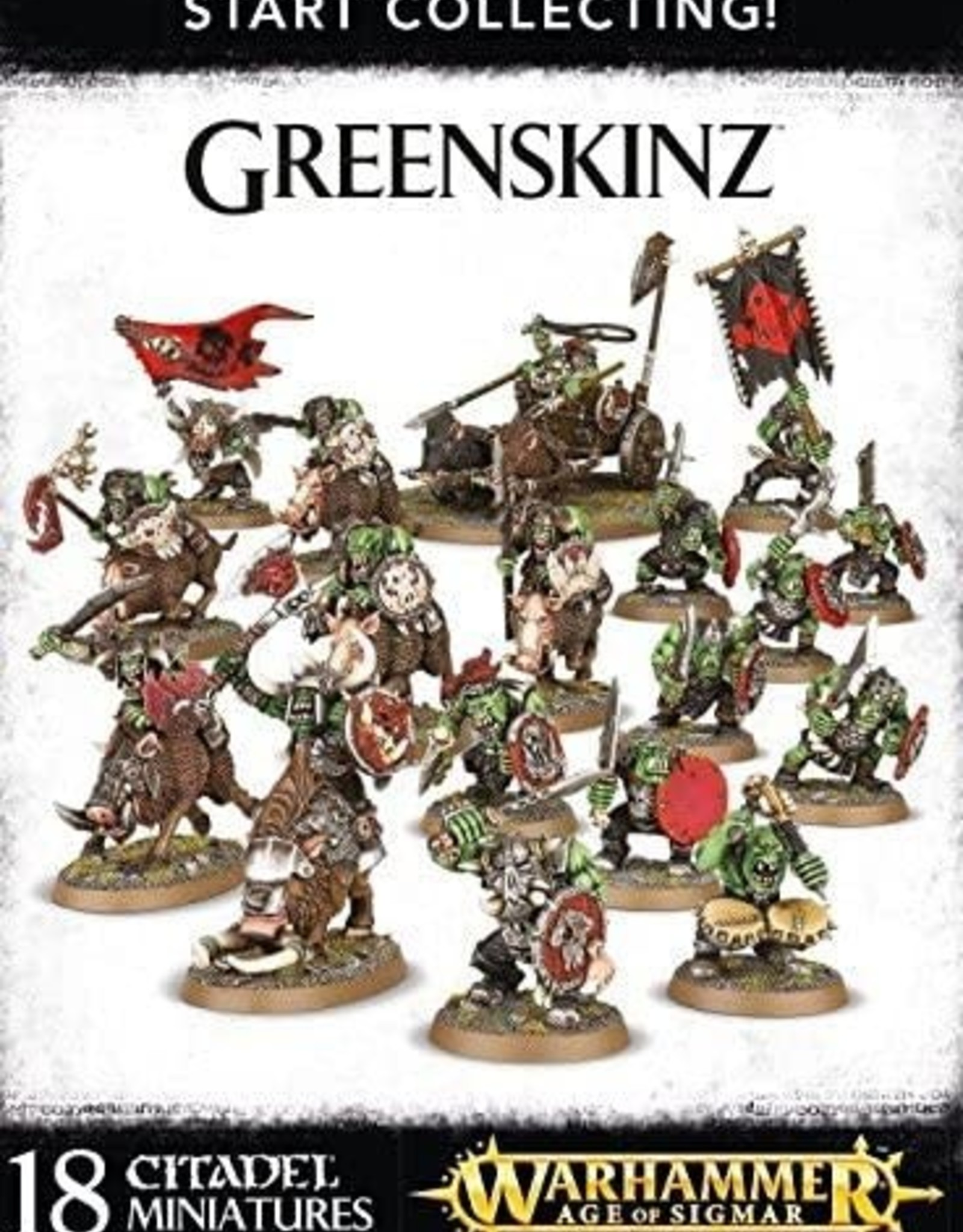 Games Workshop Start Collecting: Greenskinz