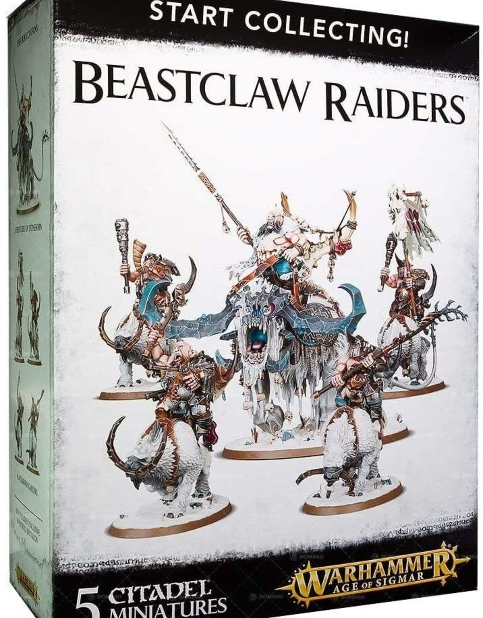 Games Workshop Start Collecting: Beastclaw Raiders