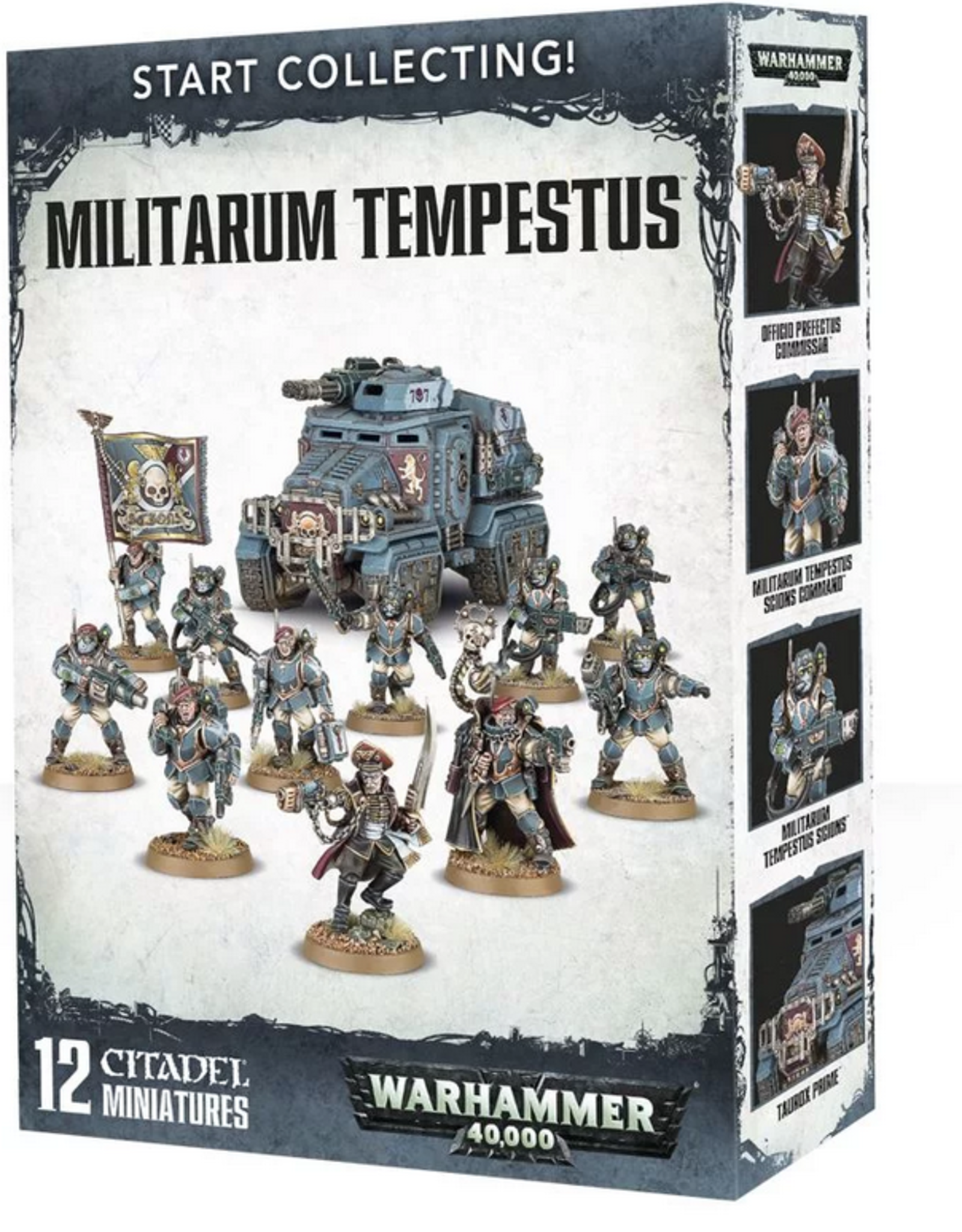 Games Workshop Start Collecting: Militarium Tempestus