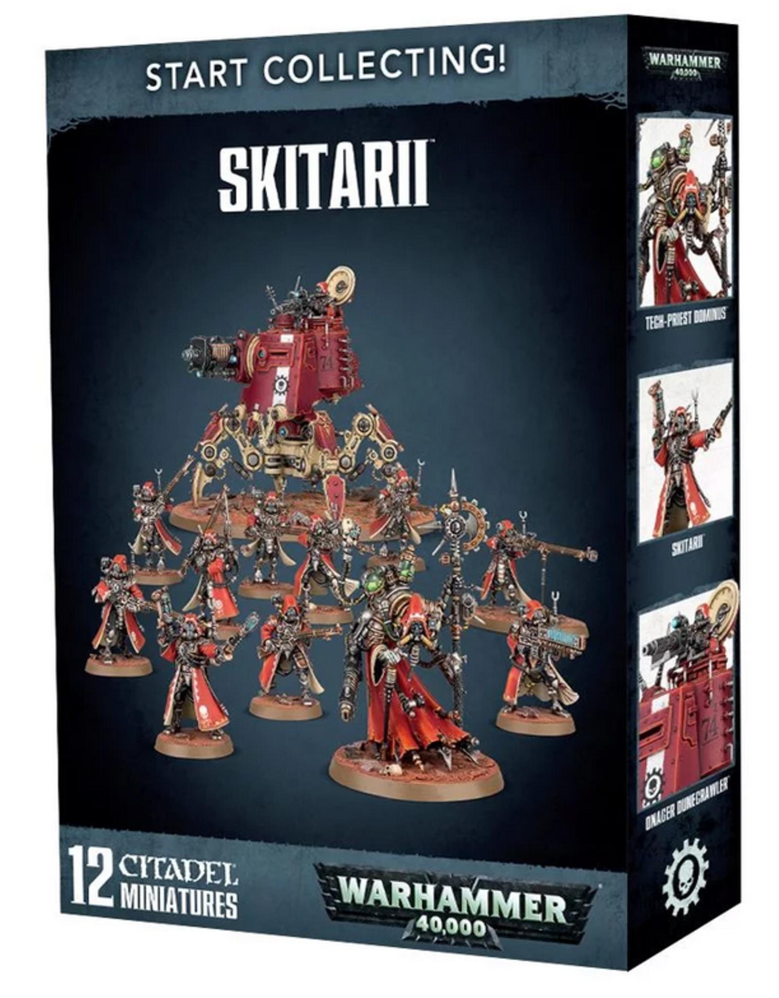 Games Workshop Start Collecting: Skitarii- OOP