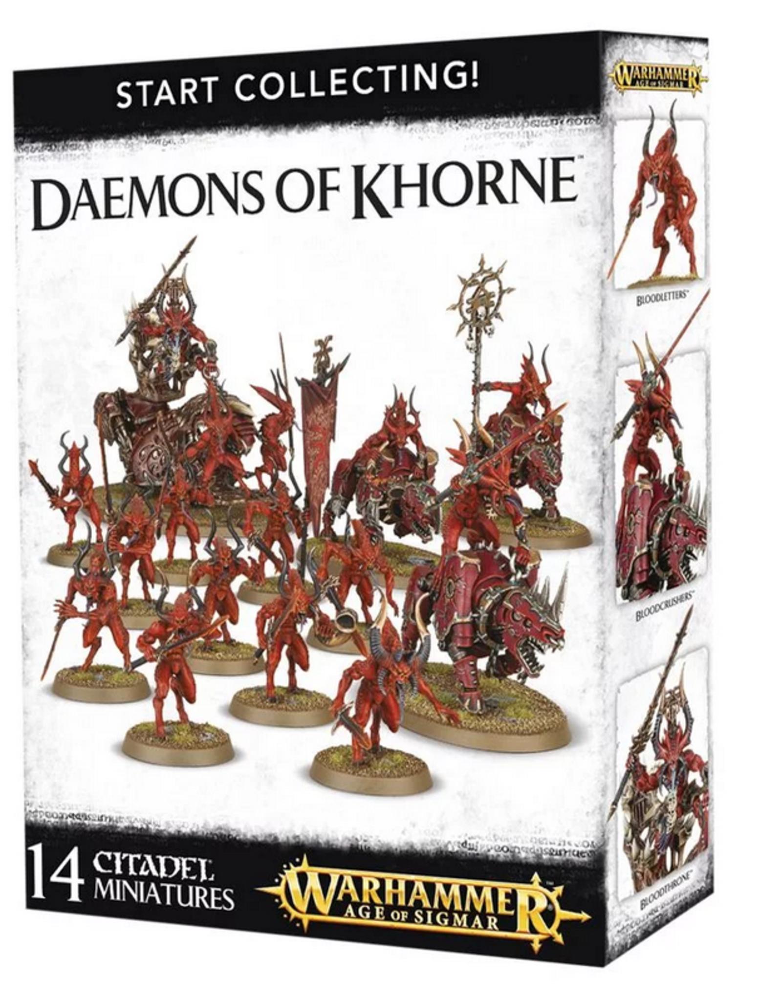 Games Workshop Start Collecting: Daemons of Khorne