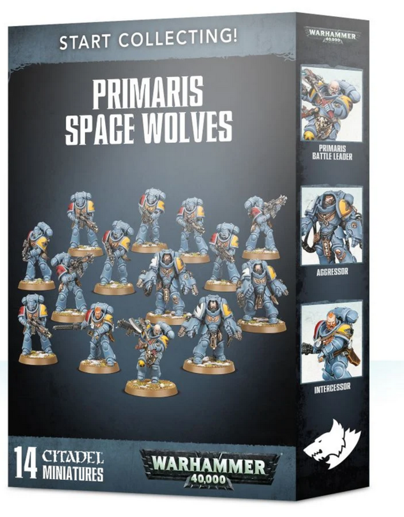 Games Workshop Start Collecting: Primaris Space Wolves
