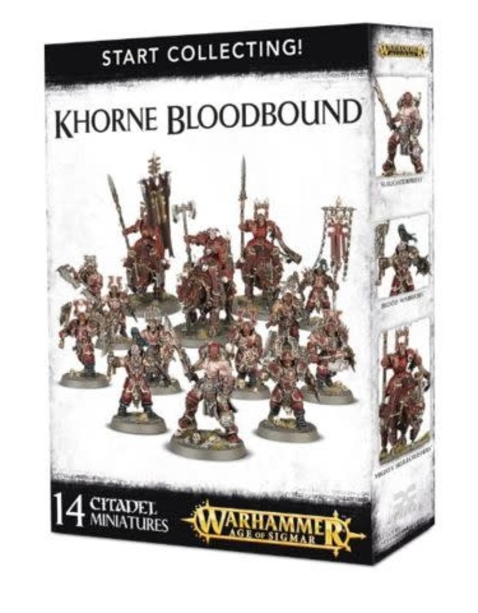 Games Workshop Start Collecting: Khorne Blood Bound
