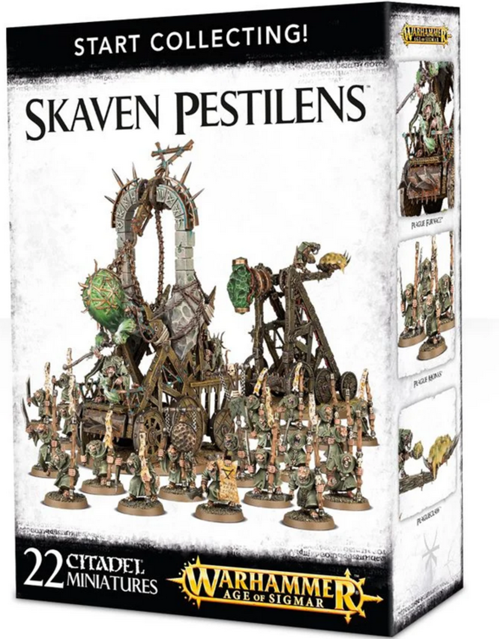 Games Workshop Start Collecting: Skaven Pestilens