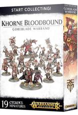 Games Workshop Start Collecting: Khorne Bloodbound Goreblade Warband