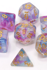 Die Hard Dice Poly Dice Set Violet Storm