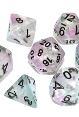 Die Hard Dice Poly Dice Set Luminous Chrome