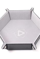 Die Hard Dice Folding Hex Tray Gray Velvet