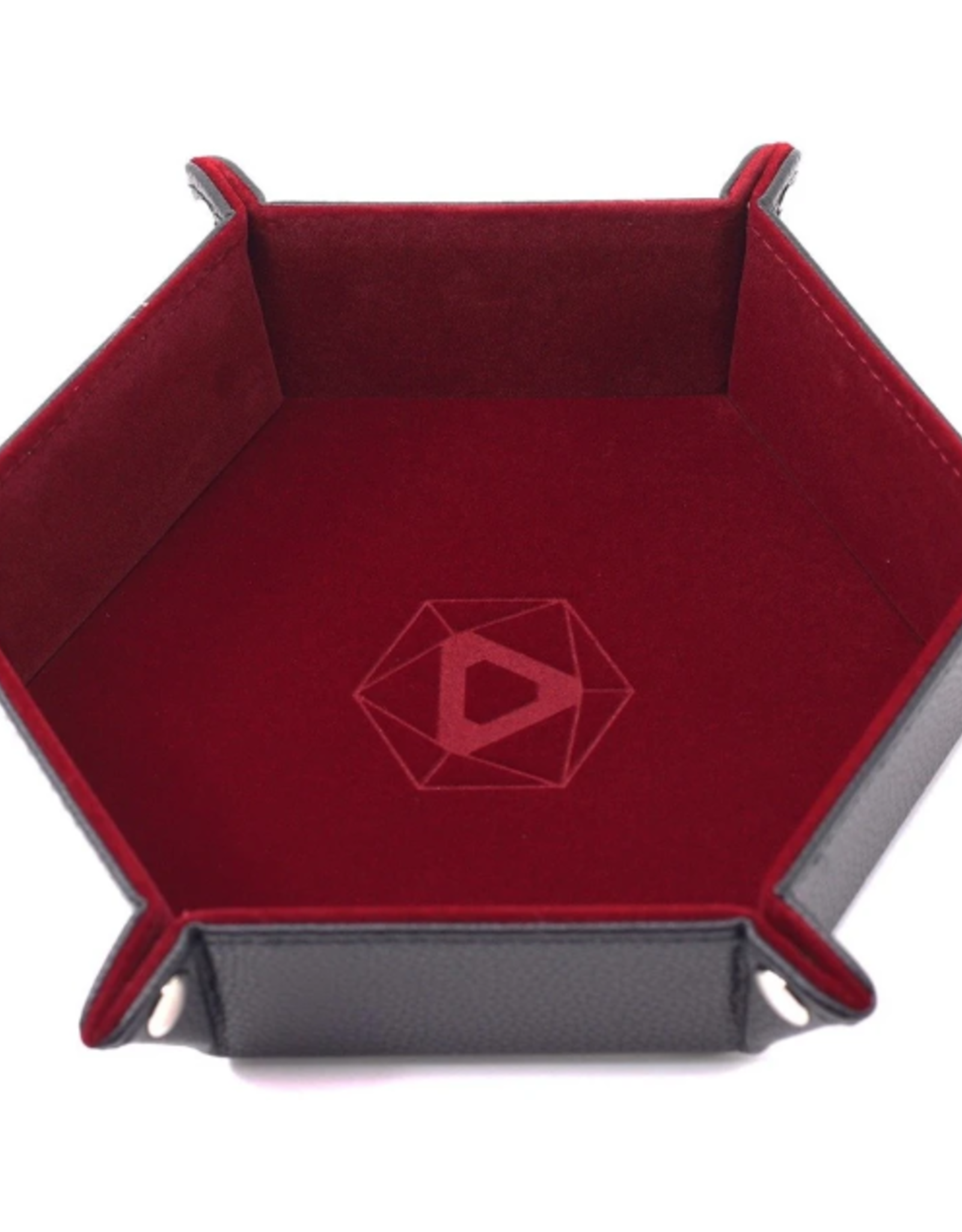 Die Hard Dice Folding Hex Tray Red Velvet