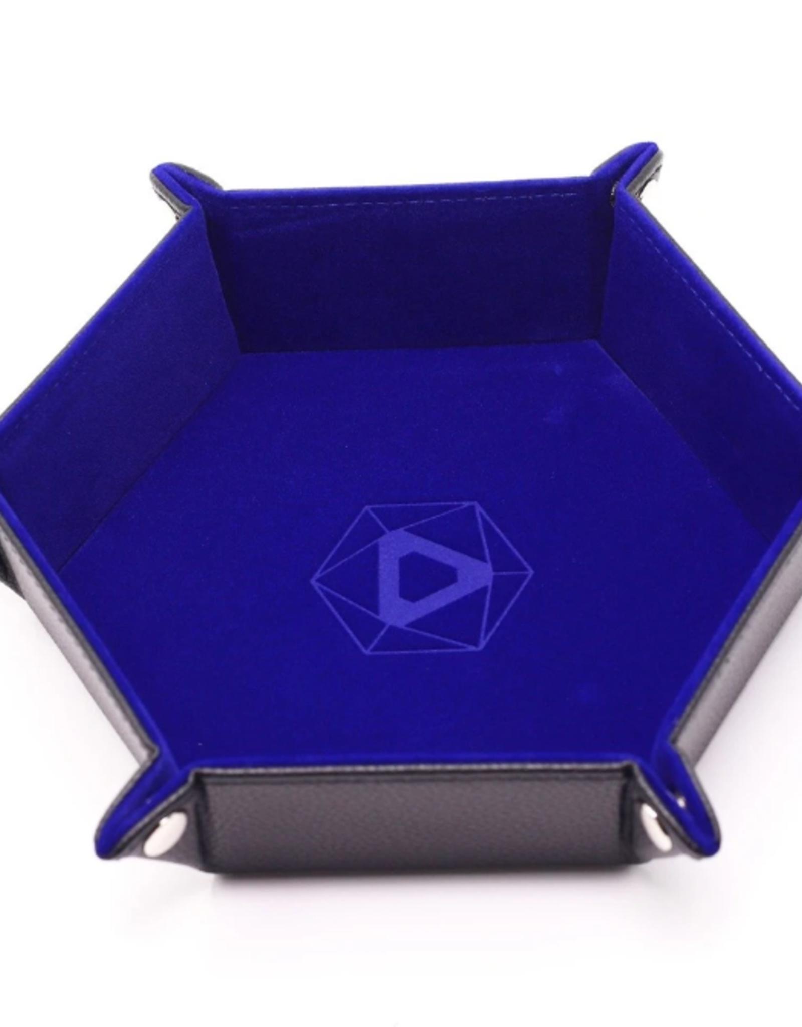 Die Hard Dice Folding Hex Tray Blue Velvet