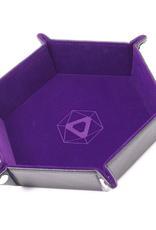 Die Hard Dice Folding Hex Tray Purple Velvet