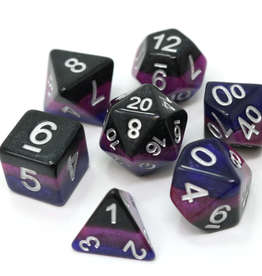Die Hard Dice Poly Dice Set Midnight Galaxy