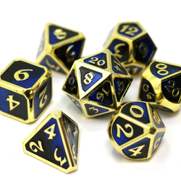 Die Hard Dice 7 Metal Dice Set Dark Arts Undertow
