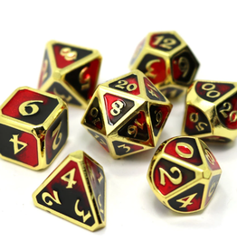 Die Hard Dice 7 Metal Dice Set Dark Arts Bloodbath