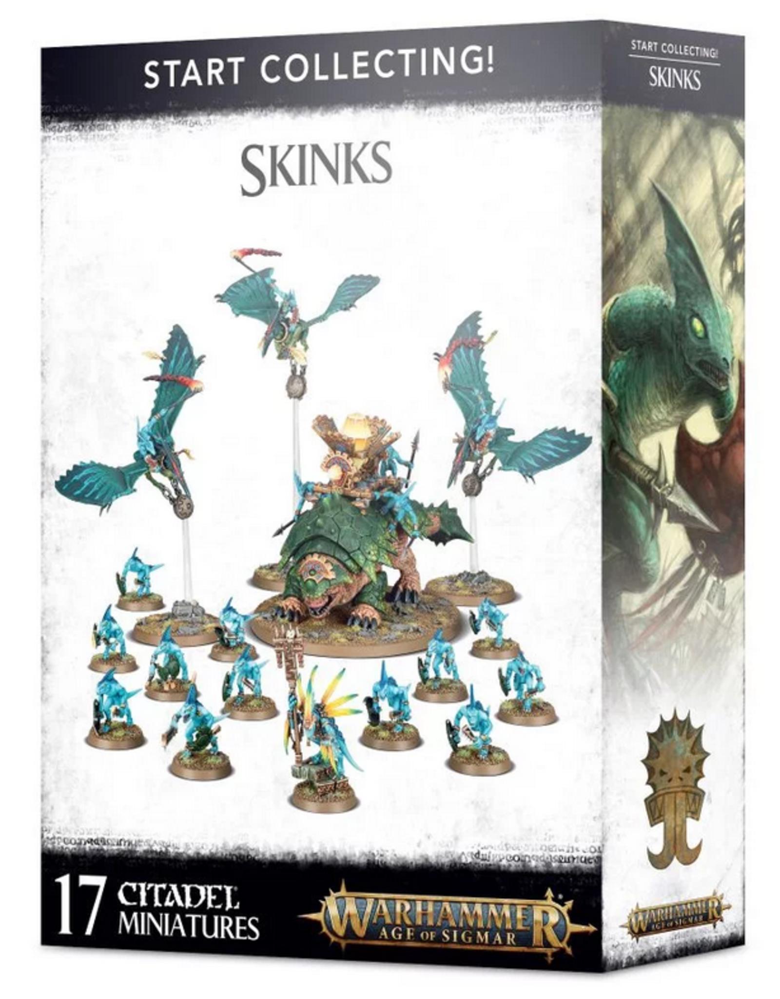 Games Workshop Start Collecting: Skinks AOS