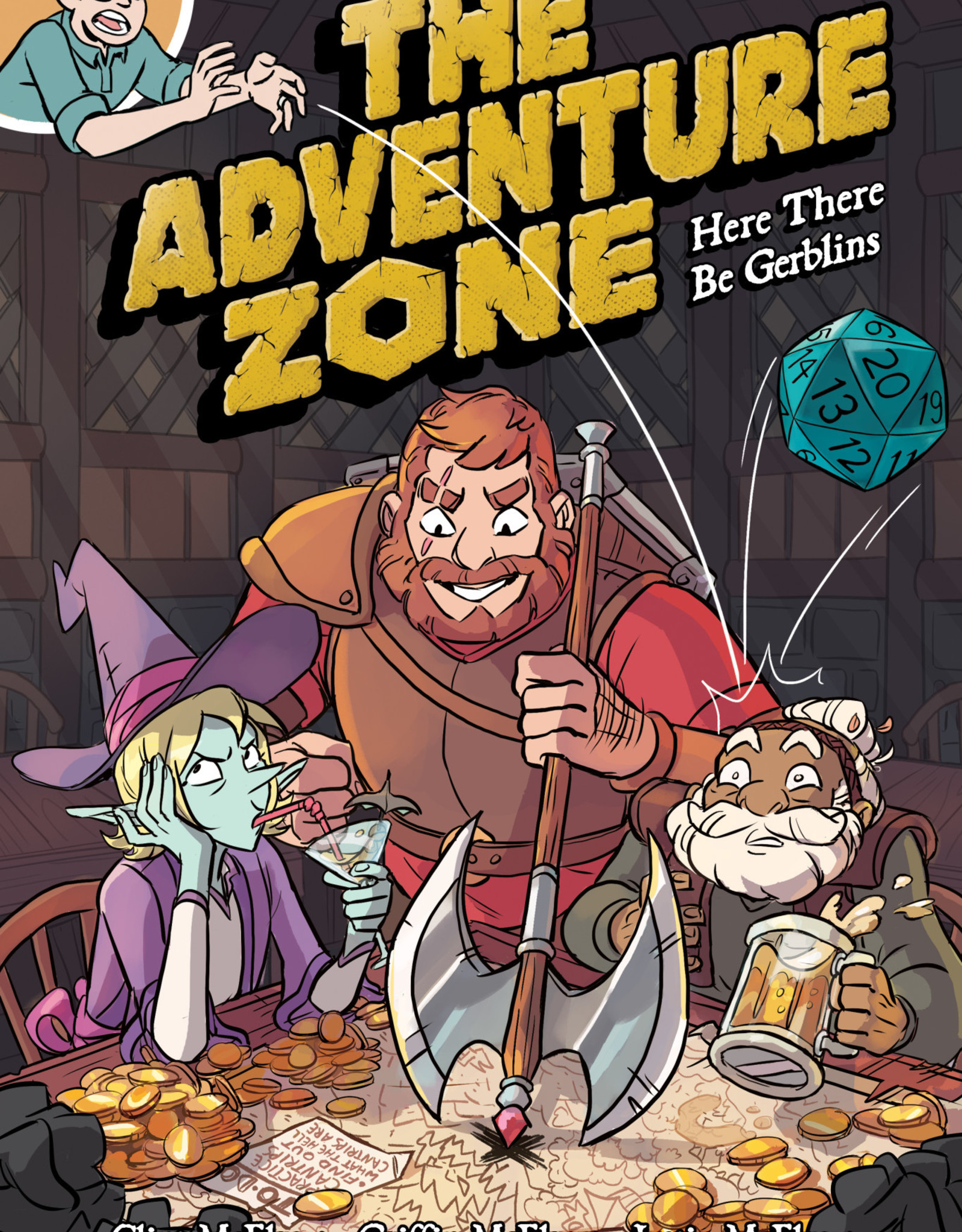 First Second Adventure Zone v01 Here There Be Gerblins