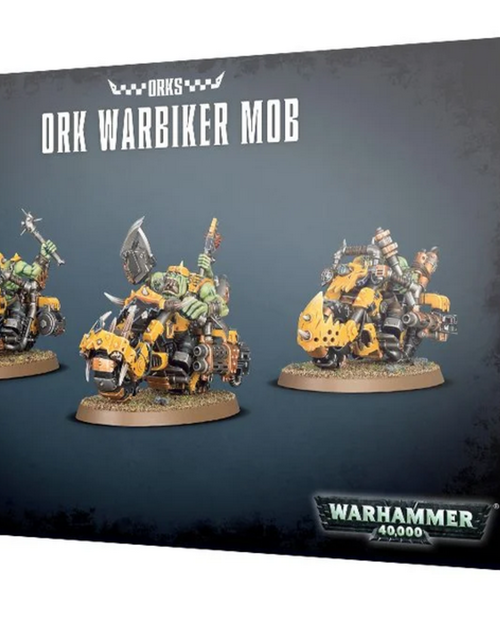 Games Workshop Orks: Warbiker Mob