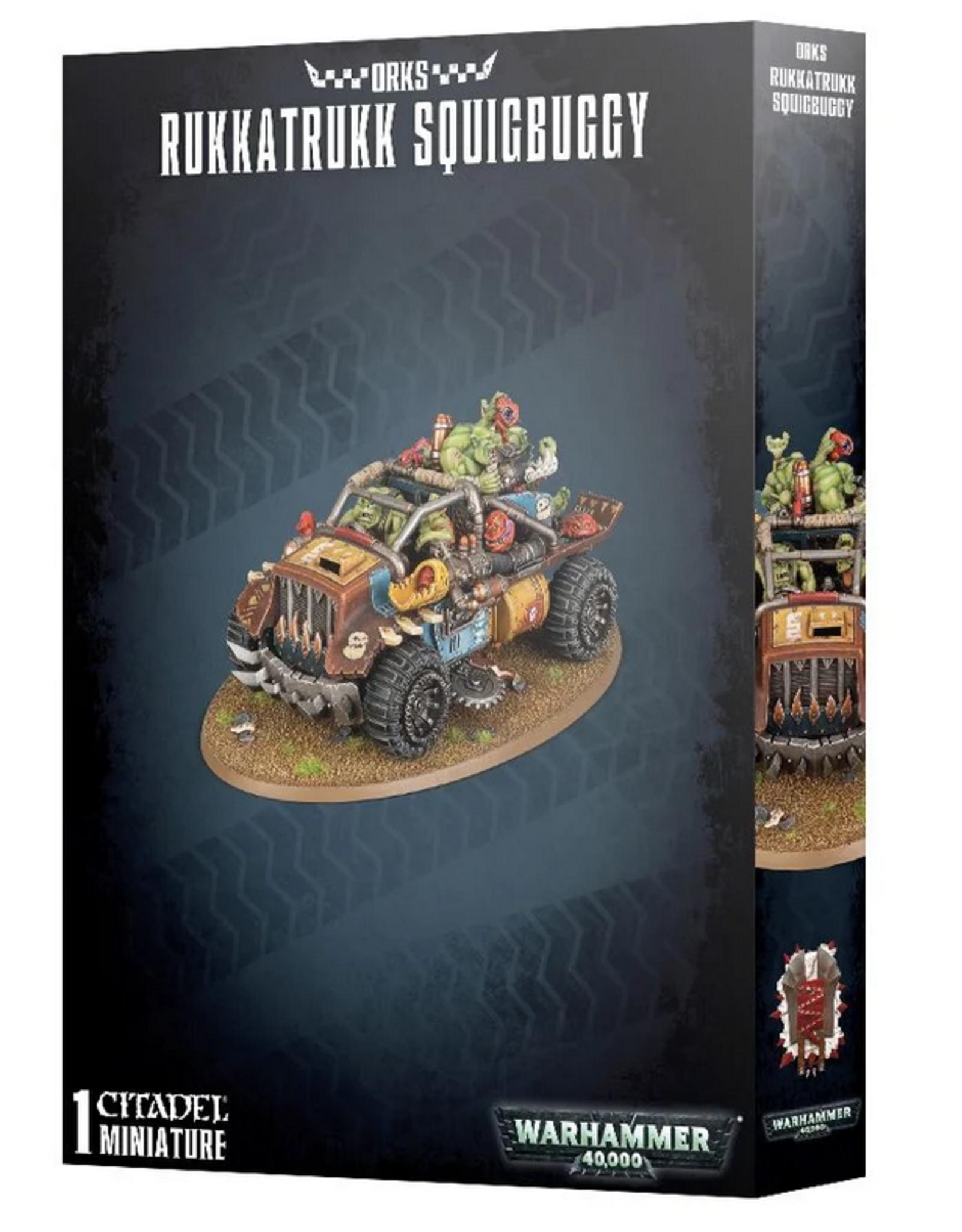 Games Workshop Orks: Rukkatrukk Squigbuggy