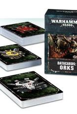 Games Workshop Datacards: Orks 8E