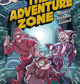 First Second Adventure Zone v02 Murder on the Rockport Limited