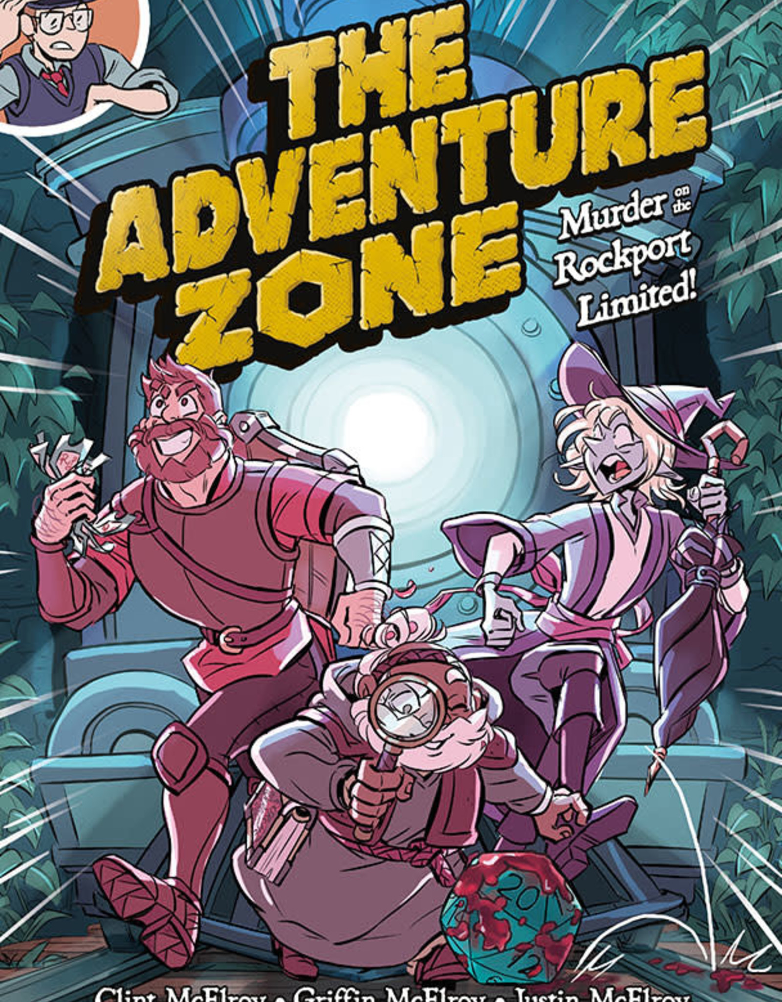 First Second Adventure Zone v02 Murder on the Rockport Limited! HC
