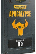 Games Workshop Apocalypse: Datasheets Orks