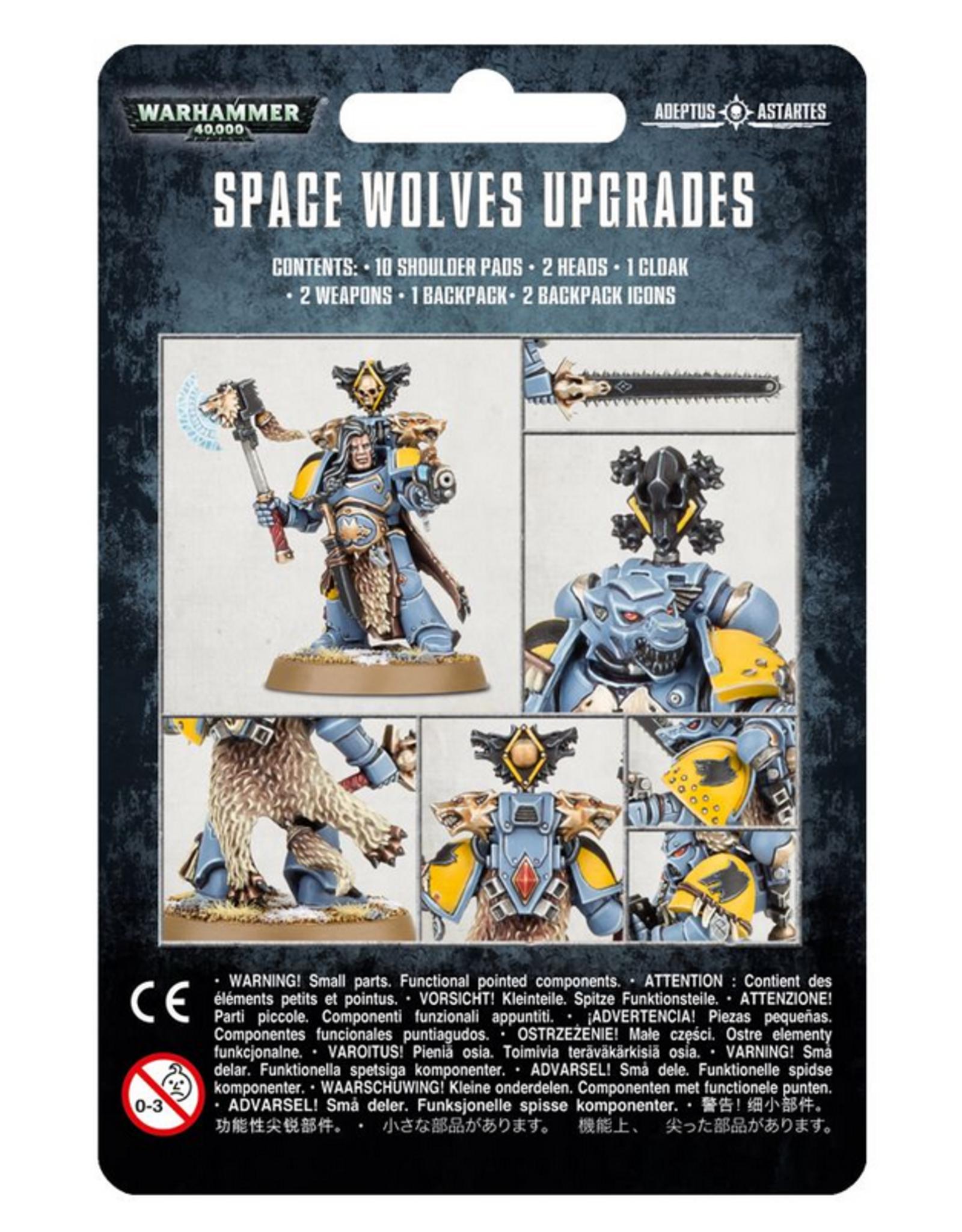 Games Workshop SM: Space Wolves Upgrade Pack