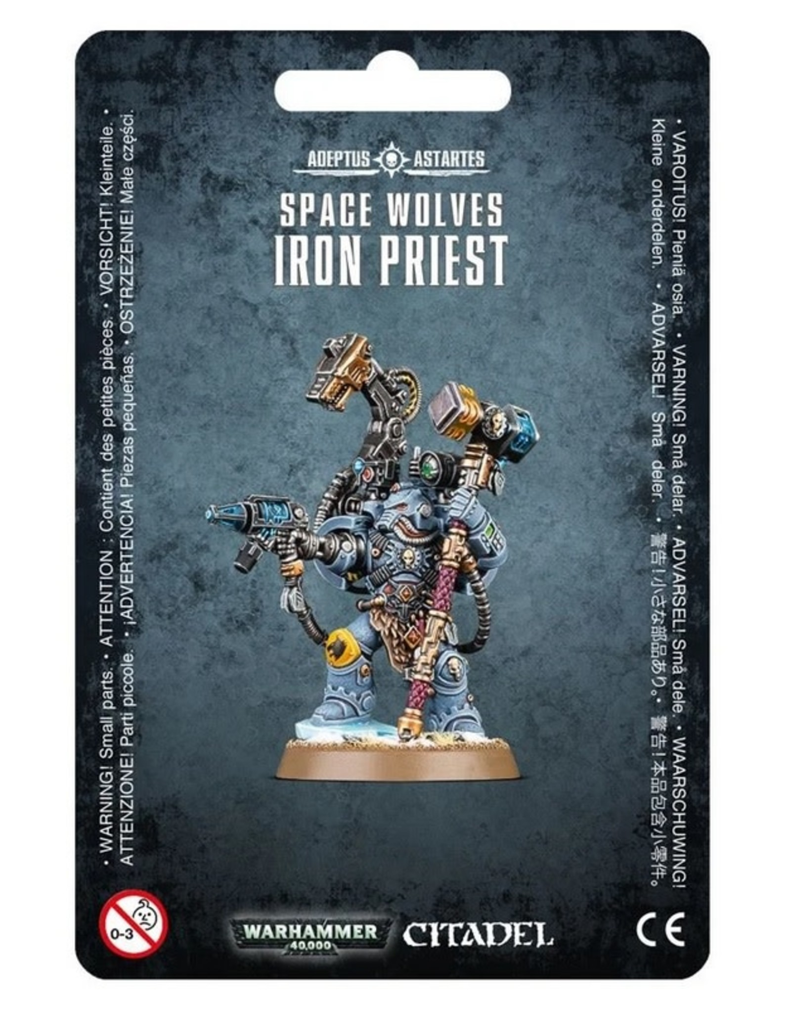 Games Workshop SM: Space Wolves Iron Priest
