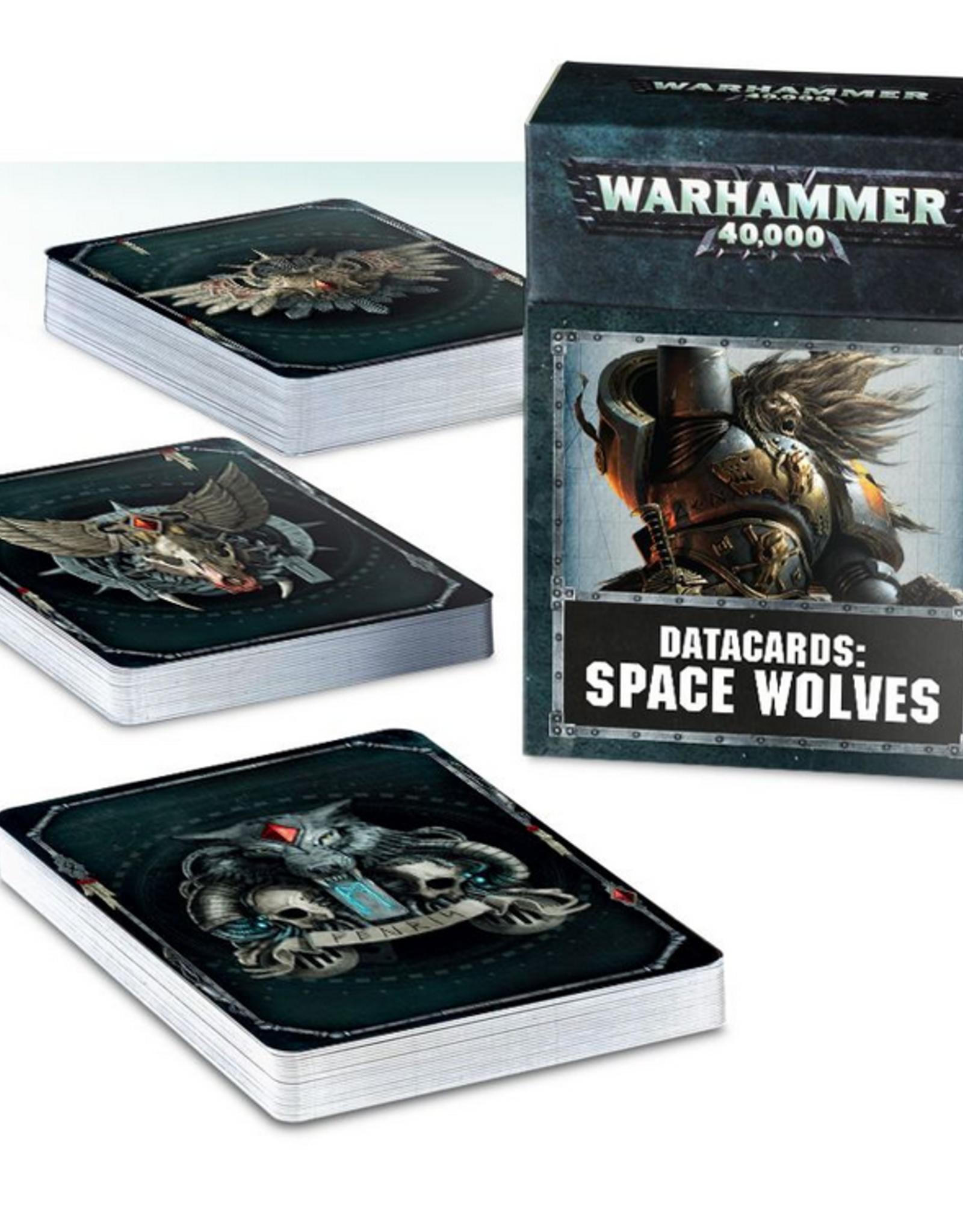 Games Workshop Datacards: Space Wolves 8E