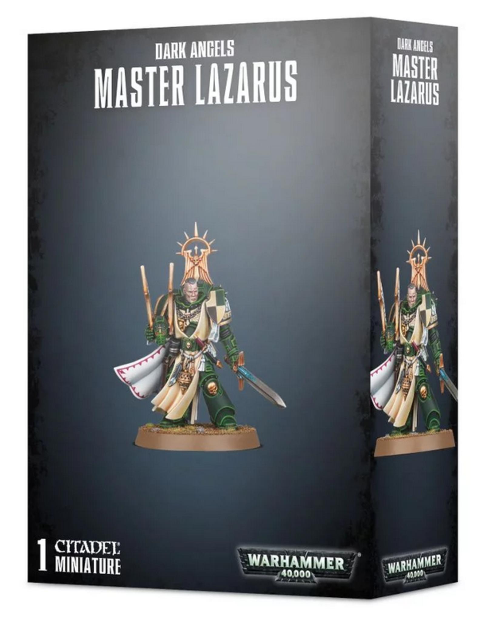 Games Workshop SM: Dark Angels Master Lazarus Primaris